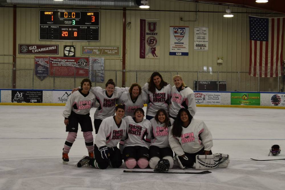 Frozen Assets celebrating their 3-1 win for 3rd place - Photo Courtesy of Ian Moore